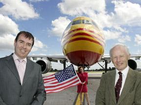 DHL launches new Dublin USA service