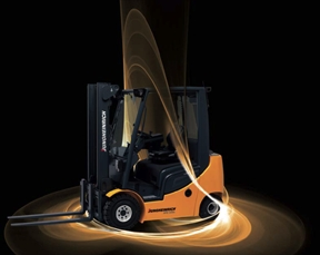 POSITIVE SIGNS FOR FORKLIFTS